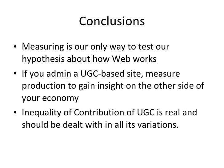 Conclusions <ul><li>Measuring is our only way to test our hypothesis about how Web works </li></ul><ul><li>If you admin a ...