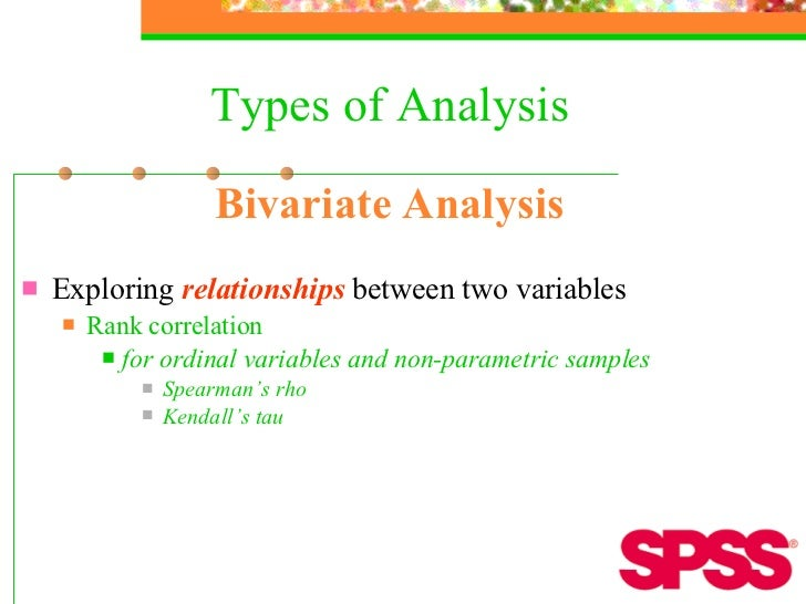 relationship between kendall tau and spearman rho spss