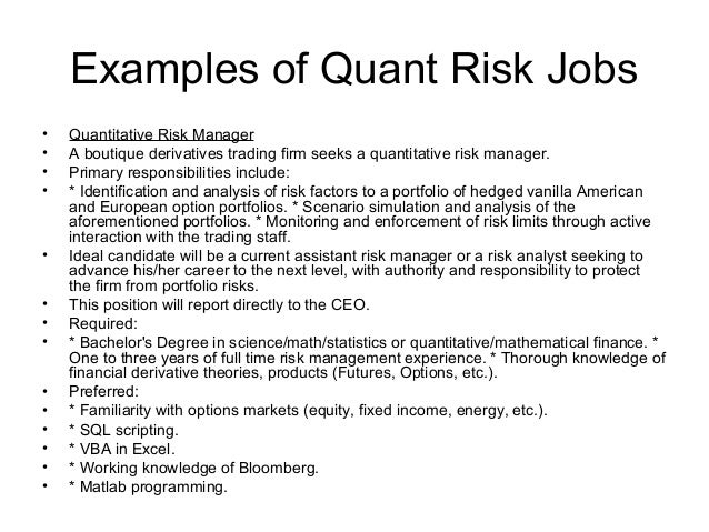 Lovely 9. Examples Of Quant ...