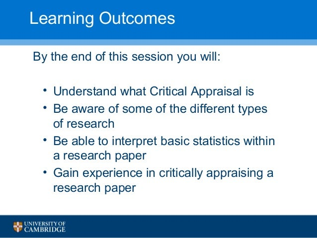 critical appraisal tools for research papers Critically appraising critical appraisal pensr discussion forum september 15th 2015 that should be contained within critical appraisal tools •agency for health research quality katikireddi et al paper.