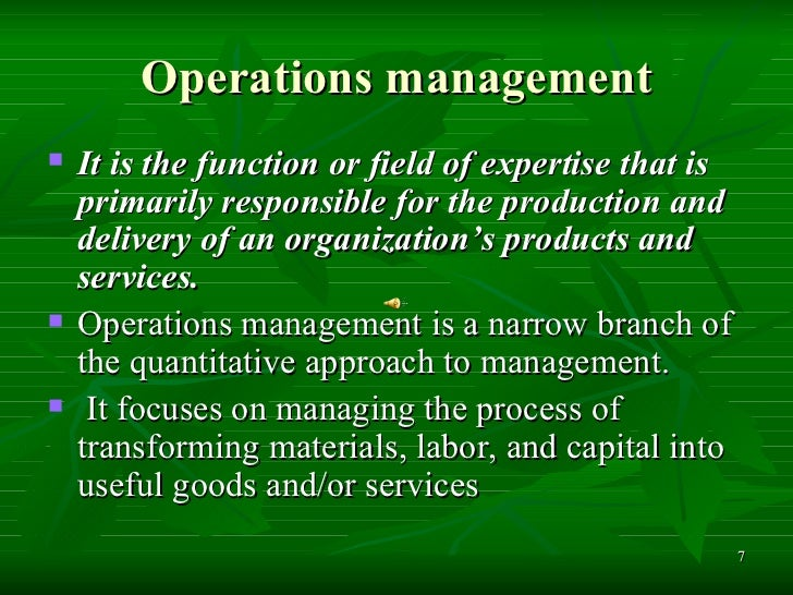 quantitative approach in management Definition the quantitative approach involves the use of quantitative techniques to improve decision making this approach has also been labeled operations research of management science it.