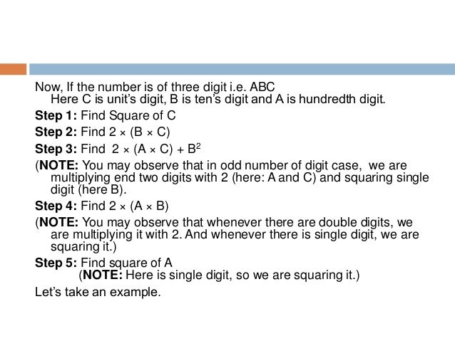 Now, If the number is of four digit i.e. ABCD Here D is unit's digit, C is ten's digit, B is hundredth digit and A is thou...