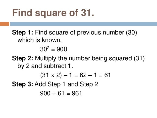 If a2 = b, b√=a (i.e., square root of b is a.) · Square Root Examples 22=4and4√=2 52=25and25−−√=5 If a3 = b, b√3=a (i.e., ...