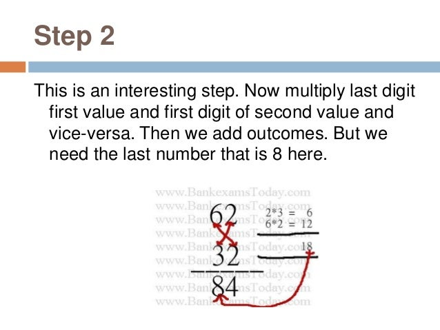 Step 3 This is the last step, in this step we do multiplication ten's digit of both value and add the remainder from previ...