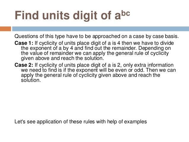 Fundamentals of Quantitative Aptitude