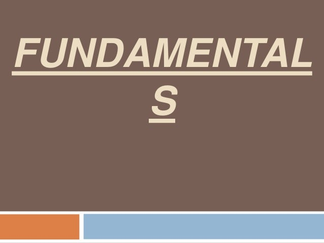 FUNDAMENTAL S