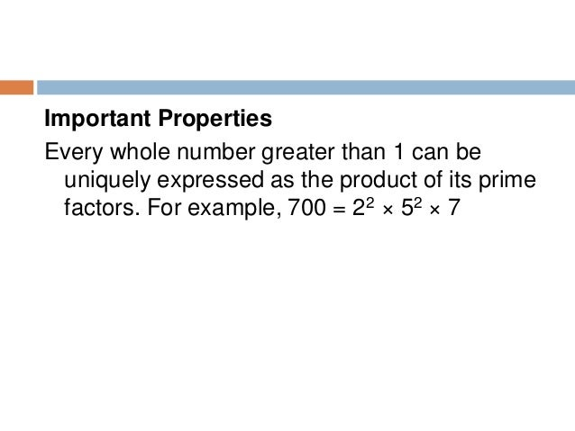 Multiples Multiples of a whole number are the products of that number with 1, 2, 3, 4, and so on Example : Multiples of 3 ...