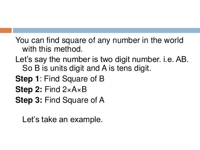 Now, If the number is of three digit i.e. ABC Here C is unit's digit, B is ten's digit and A is hundredth digit. Step 1: F...
