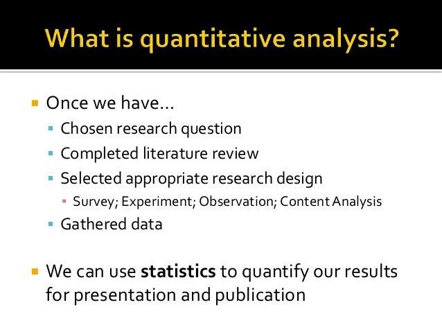 quantitative data analysis pdf