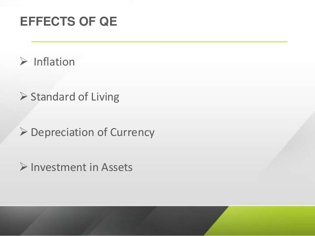 impact of quantitative easing on investment markets The coming quantitative tightening is incredibly bearish for these stock markets that have been artificially levitated by quantitative easing qt has never bef.