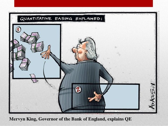 influence of quantitative easing monetary policy The federal reserve's monetary policy is designed to maximize sustainable employment one way of doing this is called quantitative easing.