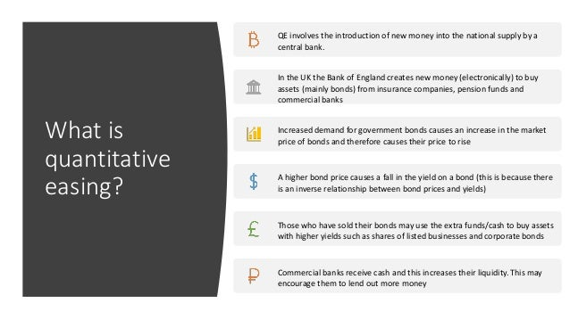 Quantitative Easing Advantages Disadvantages