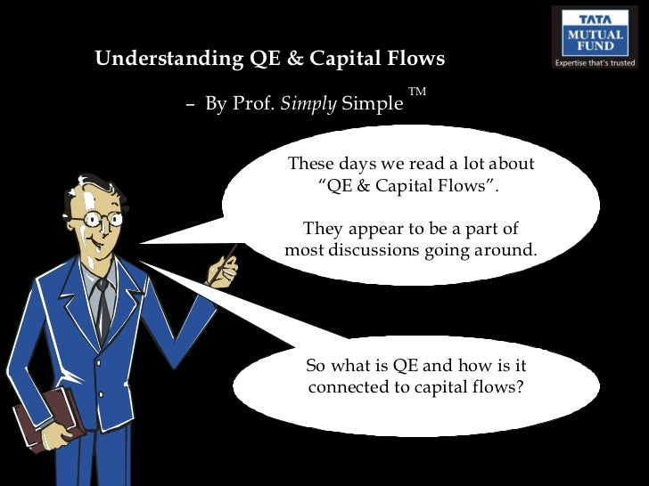 """Understanding QE & Capital Flows  –  By Prof.  Simply  Simple  TM These days we read a lot about """"QE & Capital Flows"""".  Th..."""