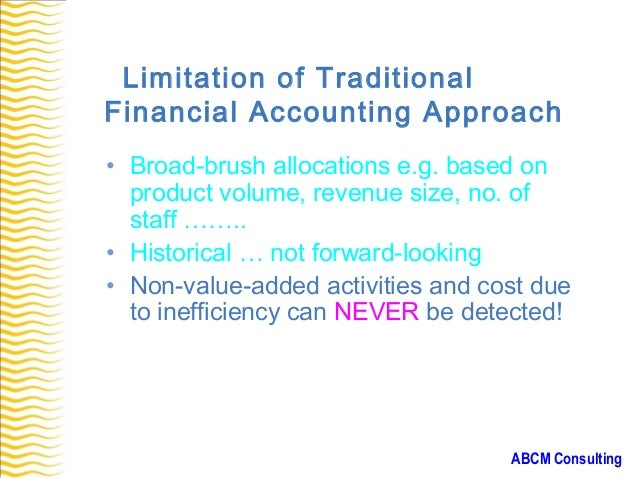 Case study for management accounting
