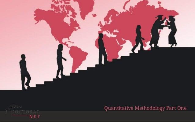 ExploitingRapid ChangeinTechnology EnhancedLearning …forPostGraduateEducation Quantitative Methodology Part One