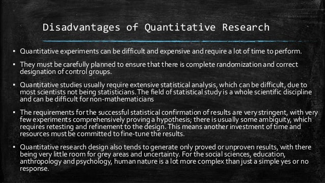 advantages and disadvantages of qualitative and quantitative research pdf