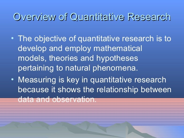 the basic building blocks of quantitative research psychology essay Both quantitative and qualitative research papers need to of the basic building blocks and experimental psychology all papers must.