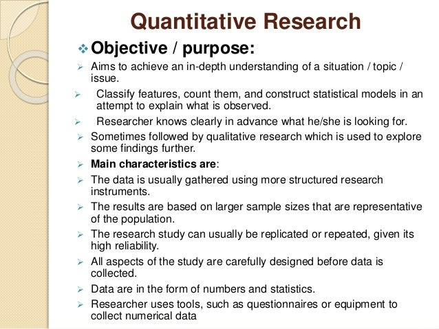 how to make objectives in research
