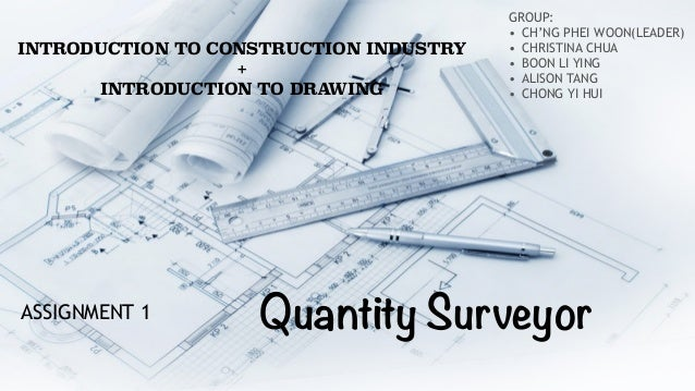 construction economics for quantity survey Quantity surveying and cost engineering  within the construction industry to become a quantity  of urban development (honours) (quantity surveying and.