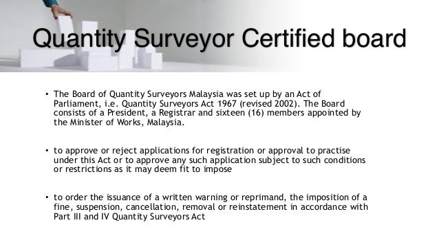 role of quantity surveyor in construction industry pdf