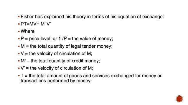 quantity theory money notes mankiw Quantity theory of money velocity of money and the equation of exchange   summary table 1 factors that determine the demand for money empirical.