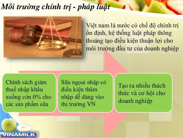 www.trungtamtinhoc.edu.vn Môi trường chính trị - pháp luật Việt nam là nước có chế độ chính trị ổn định, hệ thống luật phá...