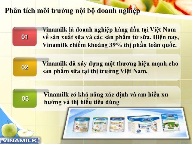 www.trungtamtinhoc.edu.vn Vinamilk là doanh nghiệp hàng đầu tại Việt Nam về sản xuất sữa và các sản phẩm từ sữa. Hiện nay,...