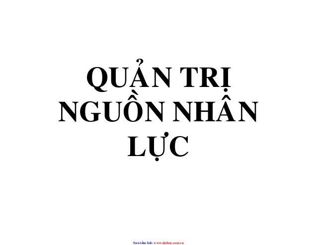 QUAÛN TRÒNGUOÀN NHAÂN   LÖÏC    Sưu t m b i: www.daihoc.com.vn