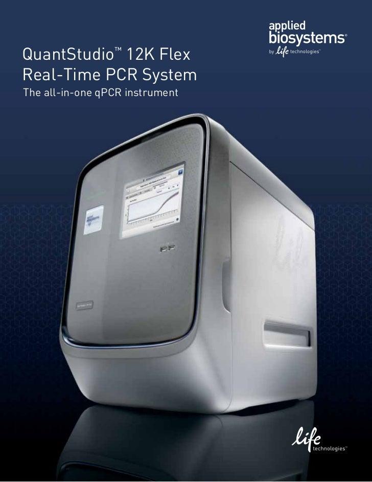 QuantStudio™12K Flex Real-Time PCR System