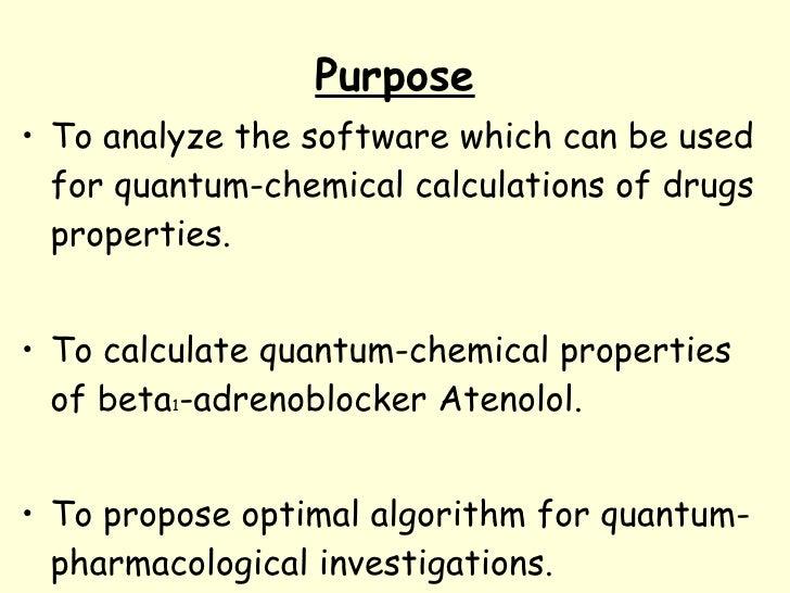 Quantum pharmacology. Basics Slide 3