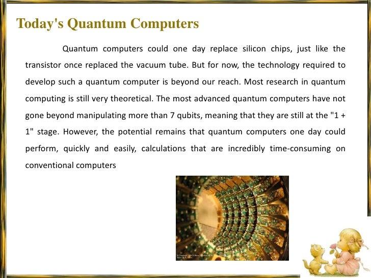 Quantum computing ppt.