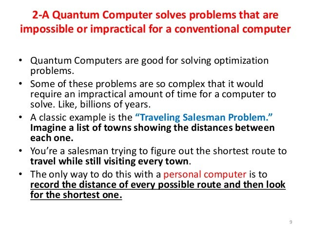 Quantum Computers New Generation Of Computers Part1 By