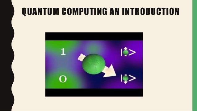 church turing thesis quantum computing We have quantum church-turing thesis: every quantum turing  machine has equal power  introduction to quantum computing and quantum information last modified by:.