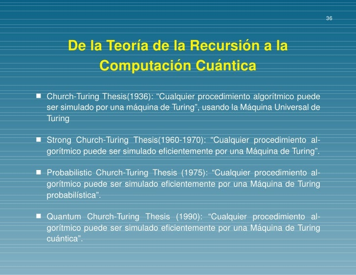 Wegner goldin church-turing thesis