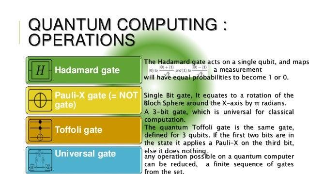 Quantum Computing Room Temperature