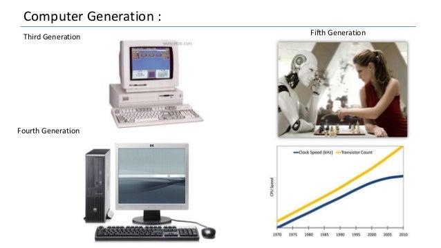 Computer Generation : Third Generation Fourth Generation Fifth Generation
