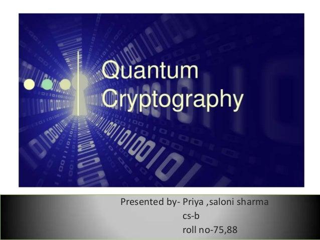Quantum computers.