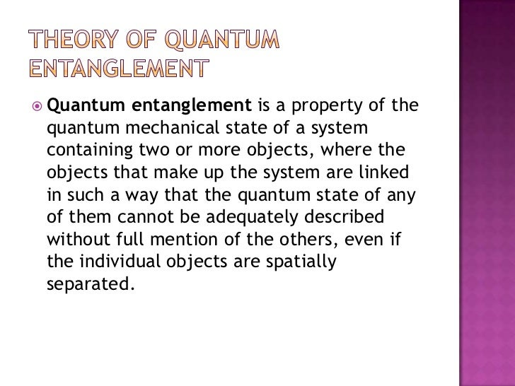 how to create quantum entanglement