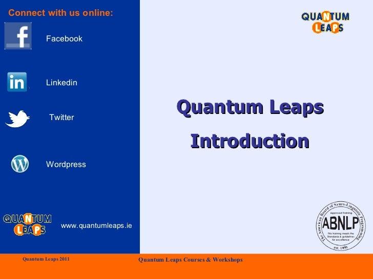 Quantum Leaps Introduction