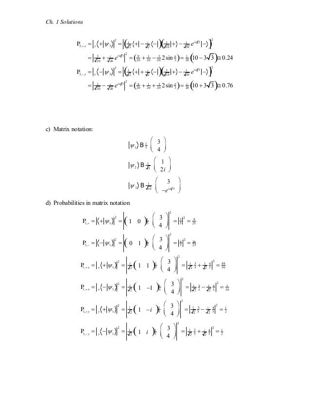 quantum mechanics 1st edition mc intyre solutions manual rh slideshare net Quantum Field Theory Quantum Field Theory