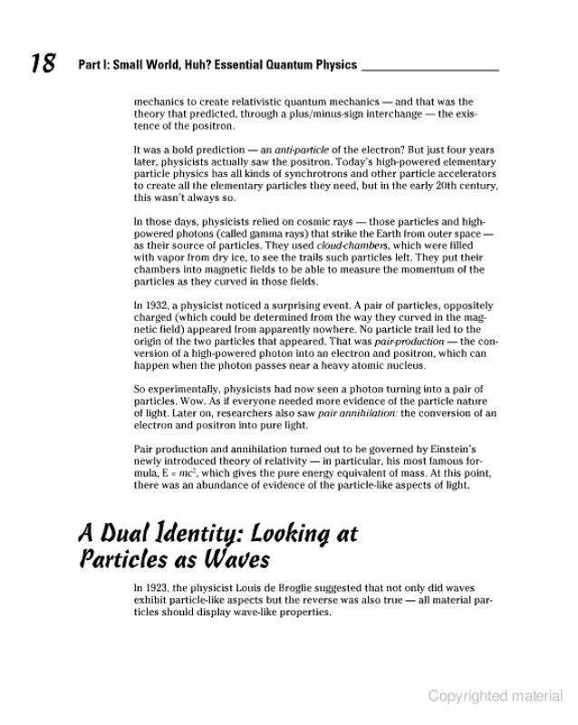 For Dummies: Quantum Physics For Dummies Pdf
