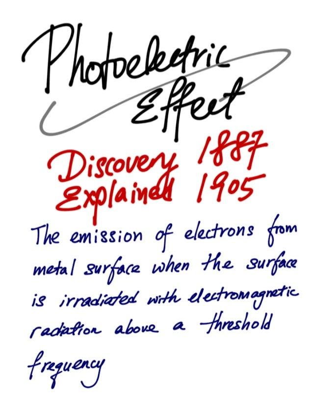 Quantum physics - Photoelectric Effect