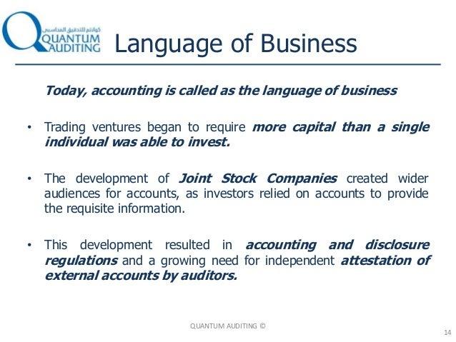 accounting language of business pdf