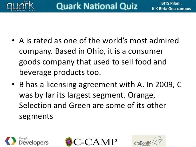 • A is rated as one of the world's most admired  company. Based in Ohio, it is a consumer  goods company that used to sell...