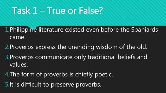 ilocano proverbs sarsarita