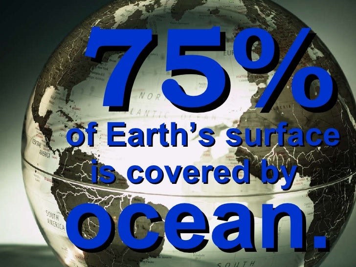 an analysis of the earths surface covered by water and the oceans and is too salty to drink How much of the earth's water is too salty to drink is salt water that can be found mainly in oceans earth's surface is covered by water.