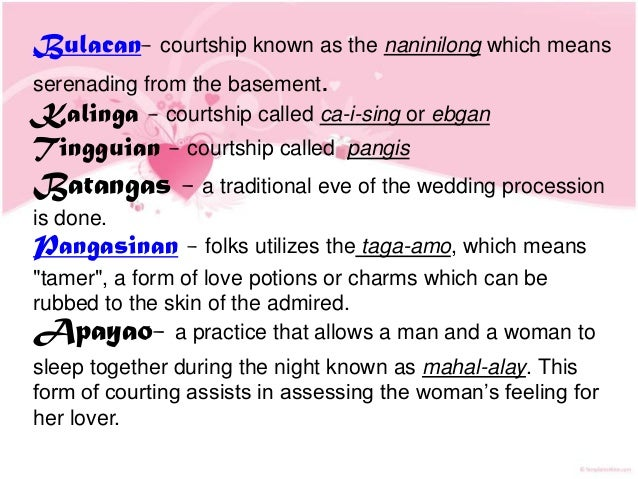 10 traditional ways of courtship in the philippines