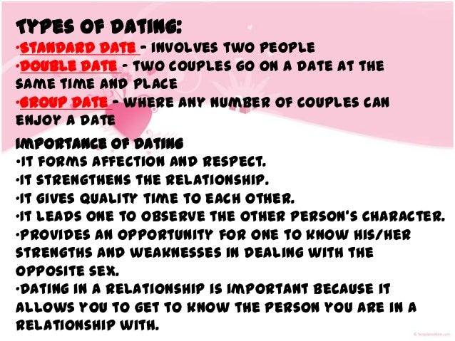 Dating sites types