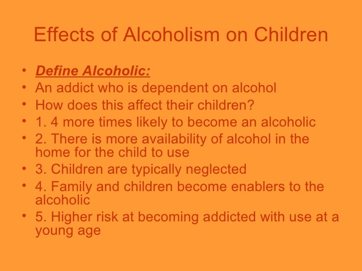 misuse of drugs and alcohol effect on children How does parental drug abuse affect children  does this mean that kids who grow up in a home where one or both parents abuse alcohol or drugs are doomed to suffer.