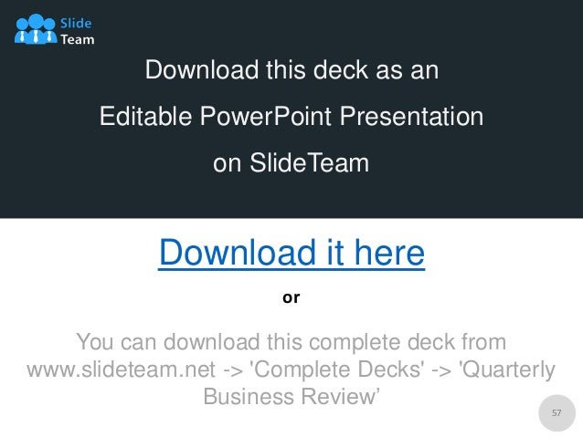 ppt presentation business review